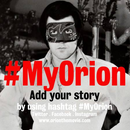 ORION: the mask of Elvis (working title)
