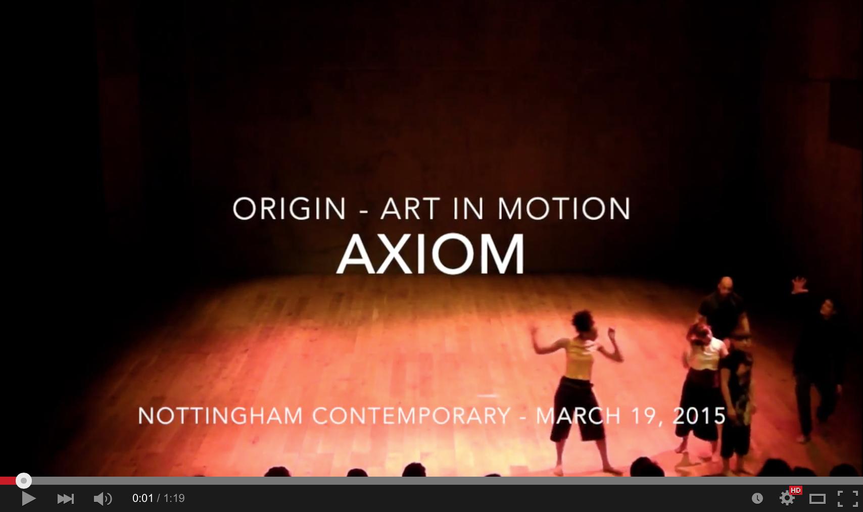 ORIGIN – Art In Motion